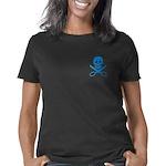 jollycropper_blue_trans Women's Classic T-Shirt