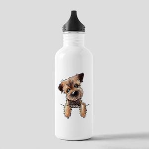 Pocket Border Terrier Stainless Water Bottle 1.0L