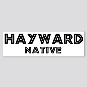 Hayward Native Bumper Sticker