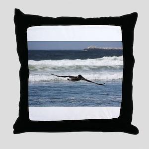 Beach Birds Photography & Pro Throw Pillow