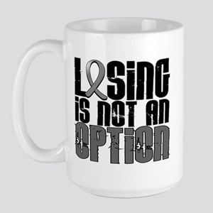 Losing Is Not An Option Parkinsons Large Mug