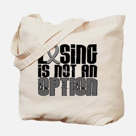 Losing Is Not An Option Parkinsons Tote Bag