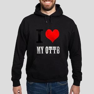I Love My OTTB Hoodie (dark)