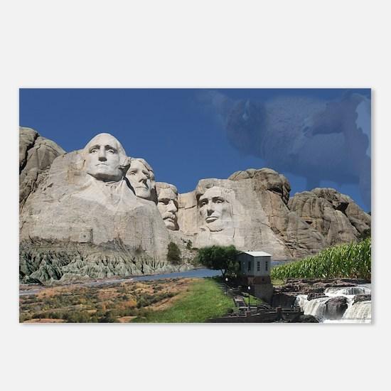 Across South Dakota 2 Postcards (Package of 8)