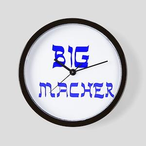YIDDISH BIG MACHER Wall Clock
