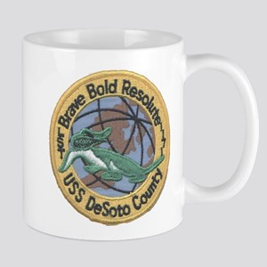 USS DESOTO COUNTY 11 oz Ceramic Mug