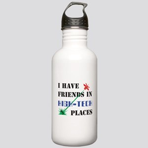 Friends in High Tech Places Stainless Water Bottle