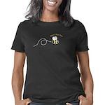 right1loopbee_CPDark Women's Classic T-Shirt