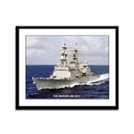 USS HAYLER Framed Panel Print