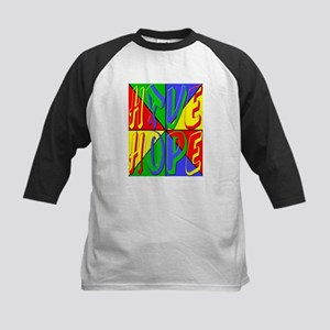 Have Hope (pop art) Kids Baseball Jersey