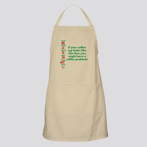 Coffee Problem Funny Coffee S Apron