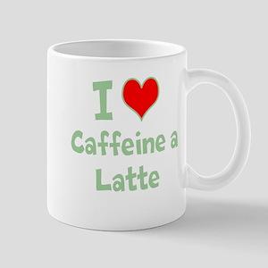 Funny Coffee Shirt, I love Ca Mug