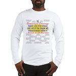 Democrat Tissue of Lies Long Sleeve T-Shirt
