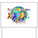 World Cancer Awareness Matter Yard Sign