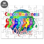 World Cancer Awareness Matter Puzzle