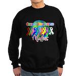World Cancer Awareness Matter Sweatshirt (dark)