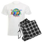 World Cancer Awareness Matter Men's Light Pajamas