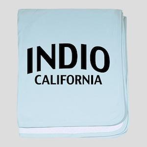 Indio California baby blanket
