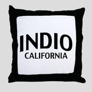 Indio California Throw Pillow
