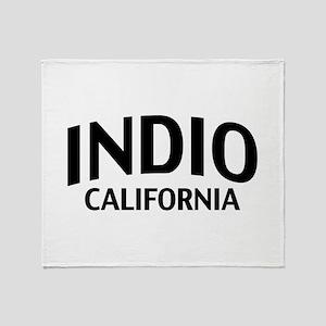 Indio California Throw Blanket