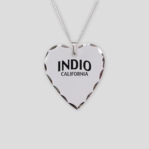 Indio California Necklace Heart Charm