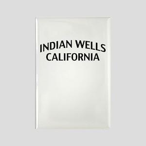 Indian Wells California Rectangle Magnet