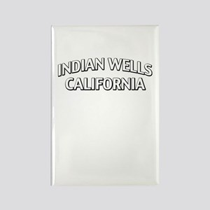 Indian Wells California Rectangle Magnet