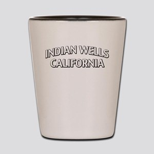 Indian Wells California Shot Glass