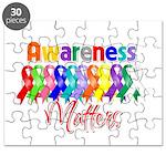 Ribbon Awareness Matters Puzzle