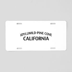 Idyllwild-Pine Cove California Aluminum License Pl