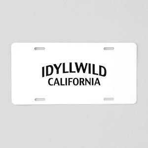 Idyllwild California Aluminum License Plate