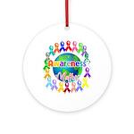 World Awareness Matters Ornament (Round)