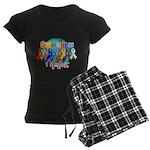 Globe Awareness Matters Women's Dark Pajamas