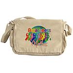Globe Awareness Matters Messenger Bag