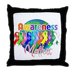 Globe Awareness Matters Throw Pillow