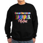 Cancer Ribbon Matters Sweatshirt (dark)