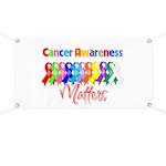 Cancer Ribbon Matters Banner