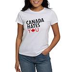 Canada Hates You Women's T-Shirt