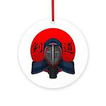 Kendo men2 Ornament (Round)