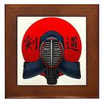 Kendo men2 Framed Tile