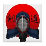 Kendo men2 Tile Coaster