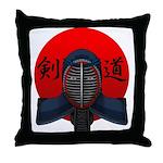 Kendo men2 Throw Pillow