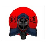 Kendo men2 Small Poster