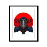 Kendo men2 Framed Panel Print