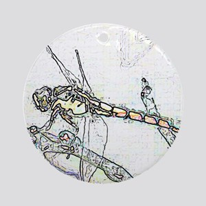 Dragonfly Keepsake (Round)