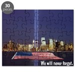 9-11 We Will Never Forget Puzzle