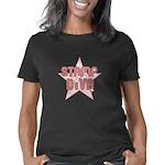 stamp_diva_trans_stroke Women's Classic T-Shirt