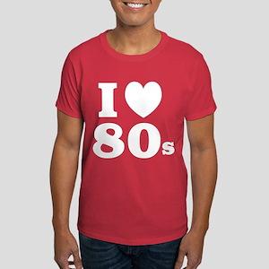 I Heart 80s Dark T-Shirt