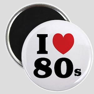 I Heart 80s Magnet