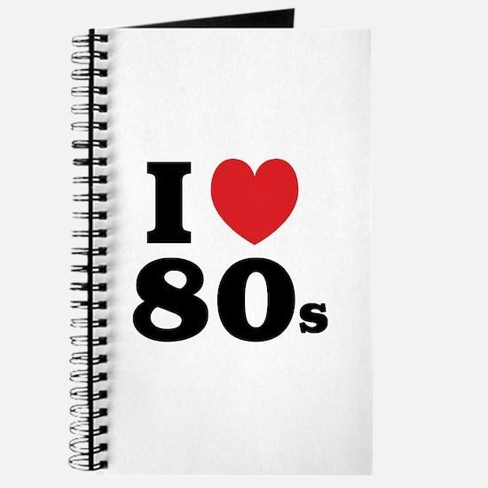 I Heart 80s Journal